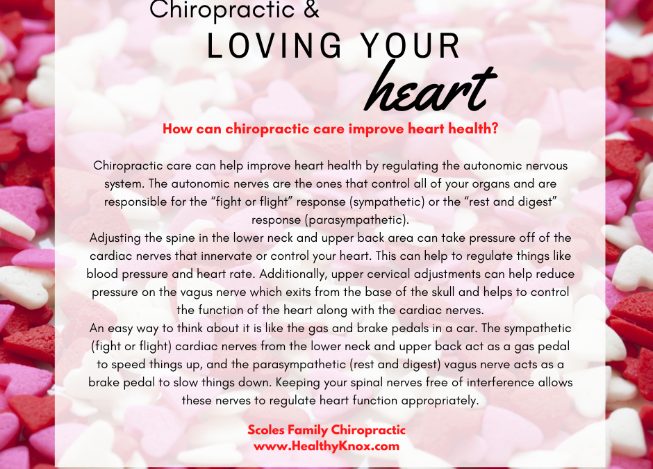 Chiropractic & Loving Your Heart