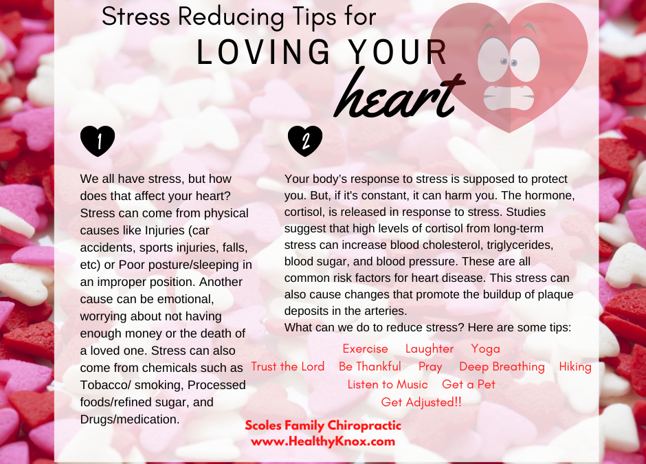 Stress Reducing Tips for Loving Your Heart