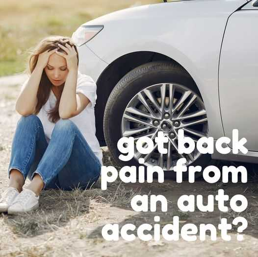 Back Pain From An Auto Accident?