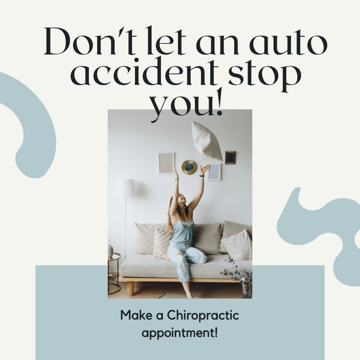 Don't Let An Auto Accident Stop You